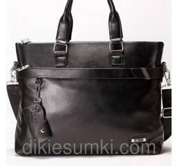 Чоловічий портфель  Dong Fangey чорного кольору