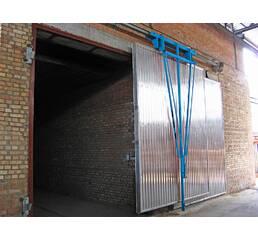 Двері завантажувальні (ворота) для сушильних камер