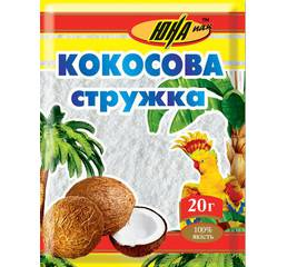 Кокосова стружка біла, 20 г
