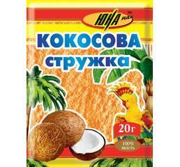 Кокосова стружка помаранчева, 20 г