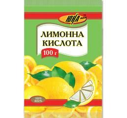 Лимонна кислота, 100 г
