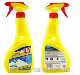 Чистящее средство для акрила и керамики  в ванной  W5 Badreiniger 1000 мл.