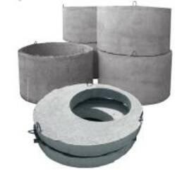 Изделия железобетонные для круглых колодцев водопровода и канализации