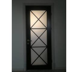 Міжкімнатні дерев'яні двері (зі склом)