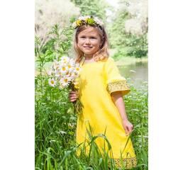 Платье детское из натуральной ткани Модель ДП22-253