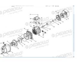 Запчастини і комплектуючі до насоса, насосної станції Pedrollo JSW, JCR. 4SR, HF, F