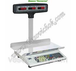 Весы торговые с аккумулятором ВТА-30 кг (240*400мм)