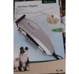 Триммер машинка для стрижки собак і кішок Surker HC - 585 (6 насадок), Суркер 585