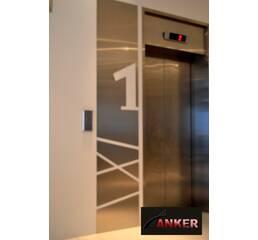 Шахти ліфтові металеві з склінням