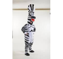 Зебра Марти, костюм аниматора, ростовая фигура