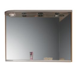 Зеркало M 780 L, береза/белое
