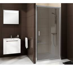 Душові двері BLIX BLDP2-110, ПОЛІР. АЛЮМ. + TRANSPARENT 0PVD0C00Z1