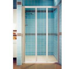 Душевые двери SUPERNOVA ASDP3-90, САТИН, TRANSPARENT 00V70U02Z1
