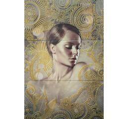 Плитка Decorado Sirena Marron-A (75x50)