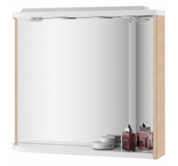 Зеркало Rosa M 780 R, береза/белое