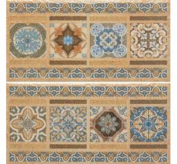 Плитка 1503 CENEFA TIERRA, ФРИЗ, 200х400