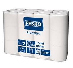 Туалетная бумага для отелей, гостиниц FESKO