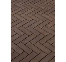 Клинкерная брусчатка  Terra Marrone Linge® formaat 80/70