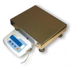 Весы лабораторные электрические ТВЕ 12-150 кг размер платформы 400х400 мм 120 кг
