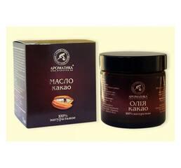 Какао, 100% натуральное масло Ароматика нерафинированное, 50 мл