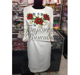 Вышитое платье ПЛ-001