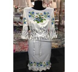 Вышитое платье БЖСЖ-019