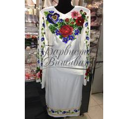 Вышитое платье БЖСЖ-035