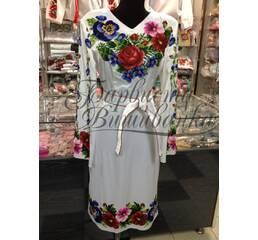 Вышитое платье БЖСЖ-035-1