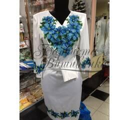 Вышитое платье БЖСЖ-018