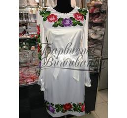 Вышитое платье БЖСЖ-027