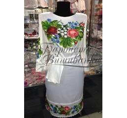 Вышитое платье БЖСЖ-021