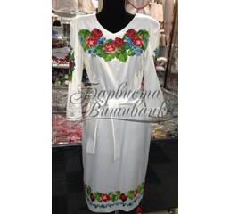 Вышитое платье БЖСЖ-004