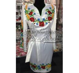 Вышитое платье БЖСЖ-024