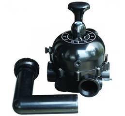 Кран шестиходовий Emaux до фільтрів серії S, бокове підключення 2'', купити в Харкові