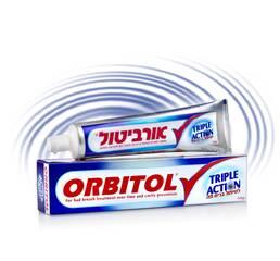 Зубна паста Orbitol Toothpaste Triple Action, 145 г