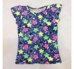 Дитяча футболка для дівчинки оптом на 5-8 років
