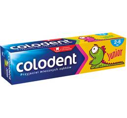 Зубна паста дитяча Colodent super junior, 50 мл Польща