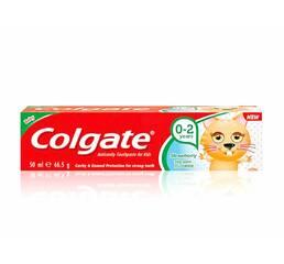 Зубна паста дитяча Colgate strawberry 0-2, 50 мл Польща