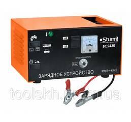 Пуско-зарядное устр-во Sturm 24В, 60-300Ач, арт. BC2430