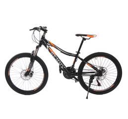 Велосипед 24 Remmy LOСRI 13 AM DD черно-оранжевый (м) AL