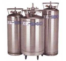 Посудини для зберігання і подачі рідкого азоту серії XL (криогенні газифікатори)