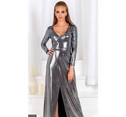 Платье 437499-1 серебро Осень-зима 2017 Украина
