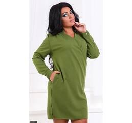Платье 8512510-4 хаки Весна 2018 Украина