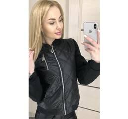 Куртка 333451-1 черный Весна 2018 Украина