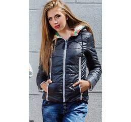 Куртка 33180 черный Осень 2016 Украина