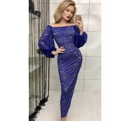 Платье 436626-1 электрик Зима 2017 Украина