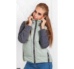 Куртка 333431-3 ментол Осень-зима 2017 Украина
