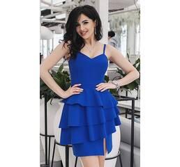 Платье 438320-2 электрик Весна-Лето 2018 Украина