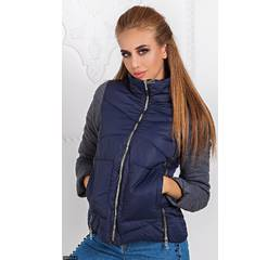 Куртка 333431-2 темно-синий Осень-зима 2017 Украина