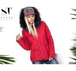 Куртка 27035 (красный)